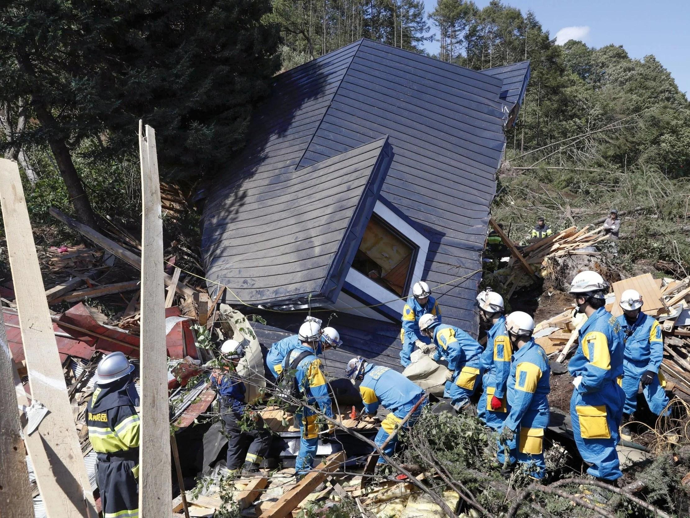 Japan Earthquake At Least 8 Dead As Powerful Quake Hits Northern Island Of Hokkaido