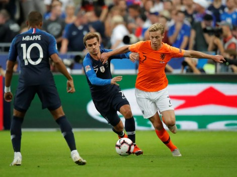 Image result for frenkie de jong holland
