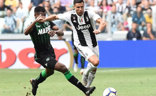 Juventus Vs Sassuolo Live Latest Score And Updates As