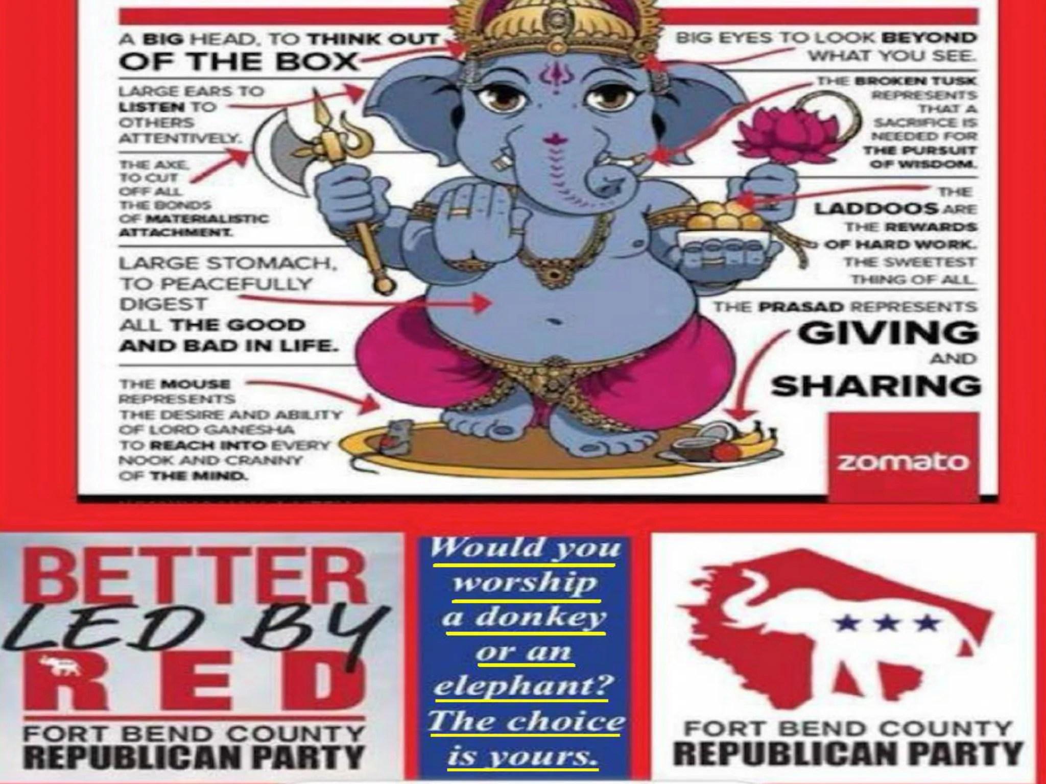 texas hindus have split