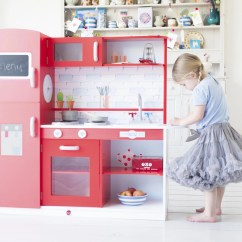 Toy Kitchens Granite Kitchen Countertop 10 Best Play The Independent Plum Terrace Wooden Has A Big American Style Fridge Freezer