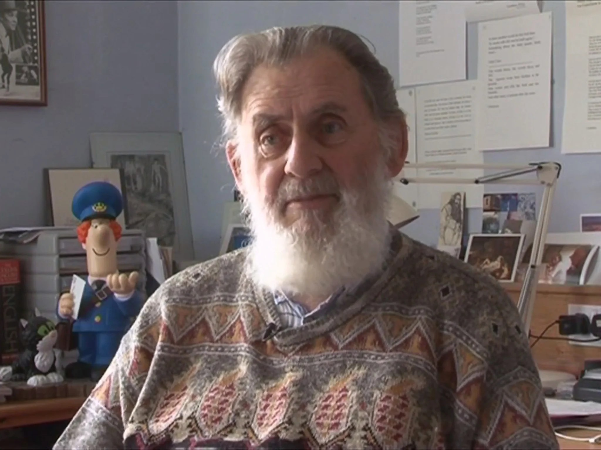 How the late John Cunliffe created Postman Pat  The