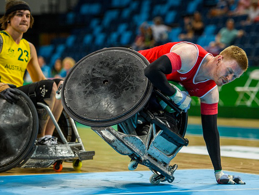 wheelchair olympics set of 4 chairs new 3m fund for tokyo will not solve fight survival warns rugby chief