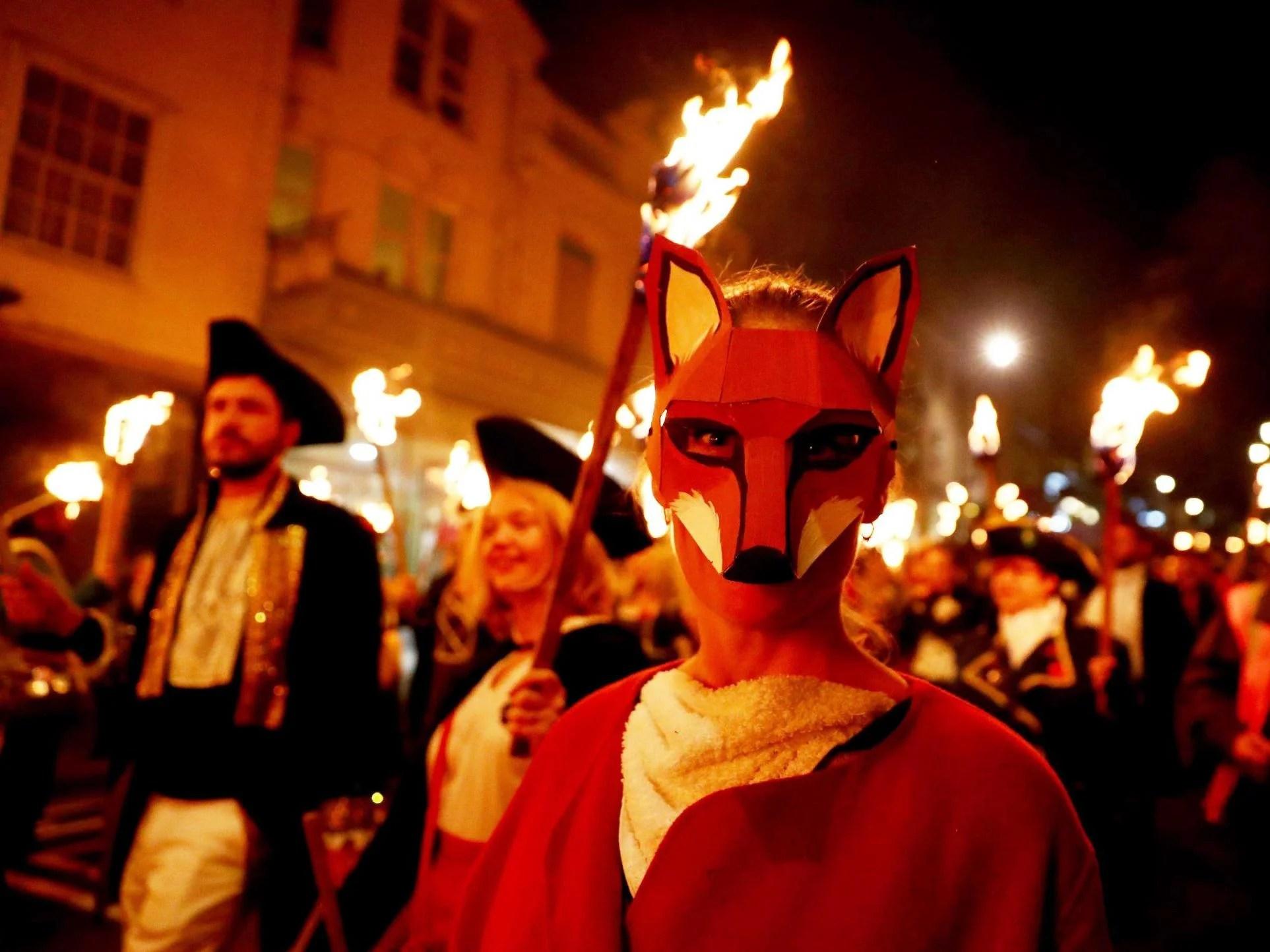 Lewes Bonfire The Sussex Town Famed For Burning Effigies