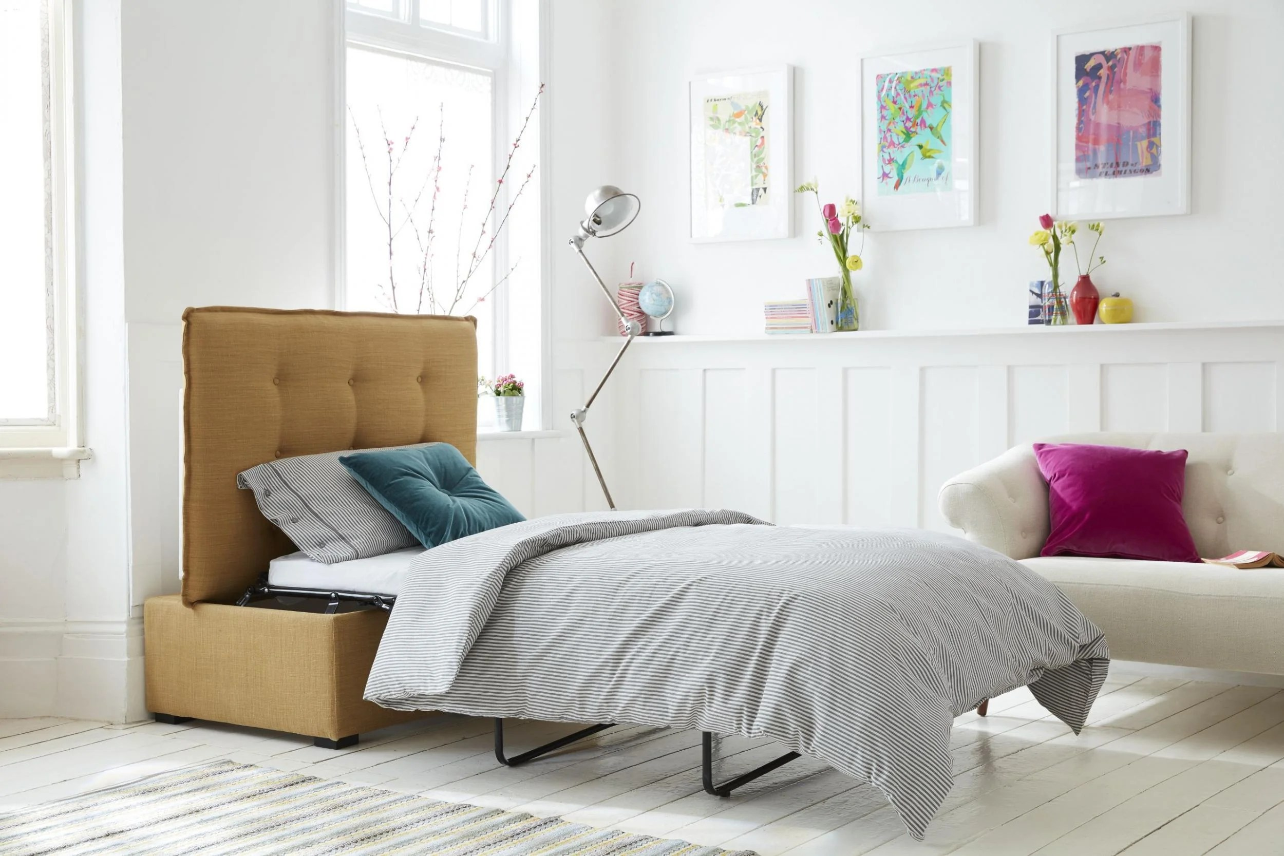 willow and hall sofa reviews pictures of small sectional sofas 12 best beds the independent com s hetty bed in a box is winner for owners or renters smaller homes it single pull out that folds back into an impressively compact