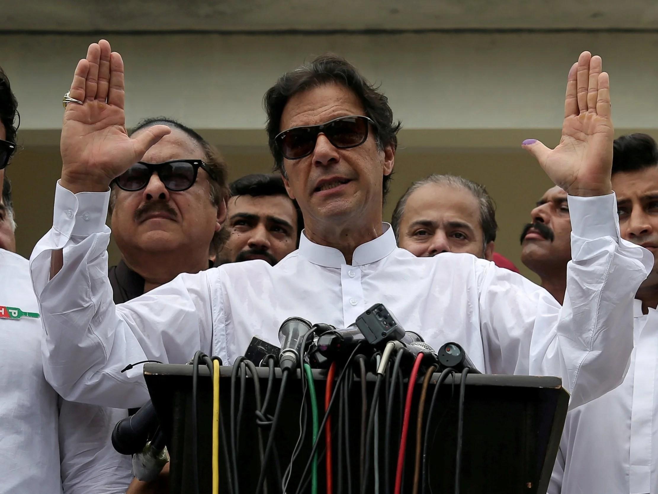 imran khan hits back