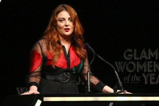 Glamour Editor In Chief Samantha Barry Speaks Onstage At The 2018 Glamour Women Of
