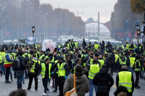 Image result for protests in paris