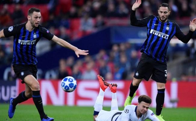 Tottenham Vs Inter Milan Christian Eriksen Hands Spurs