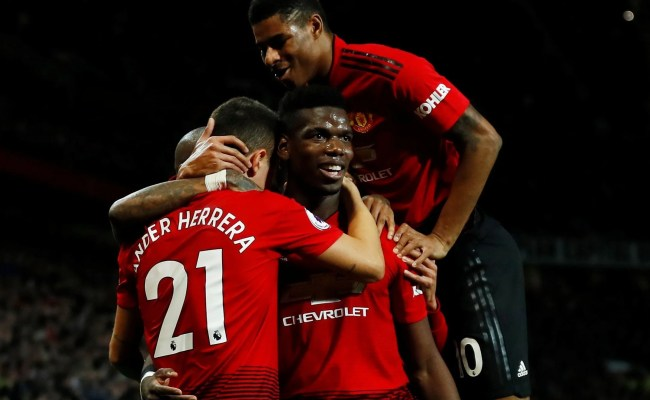 Manchester United Vs Bournemouth Paul Pogba Inspires Side