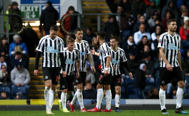 Blackburn Vs Newcastle Joselu And Ayoze Perez Strike In