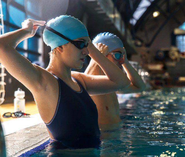 Most Performance Swim Hats Are Made With Silicone Making Them Stretchy Enough To Work For