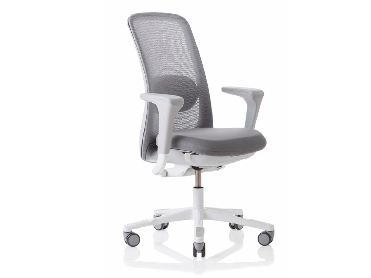 white mesh office chair uk exercise ball base with wheels 8 best ergonomic chairs the independent most desk go up to a seat height of around 520 560mm depending on gas stem mechanism used this one goes right 640mm which is excellent