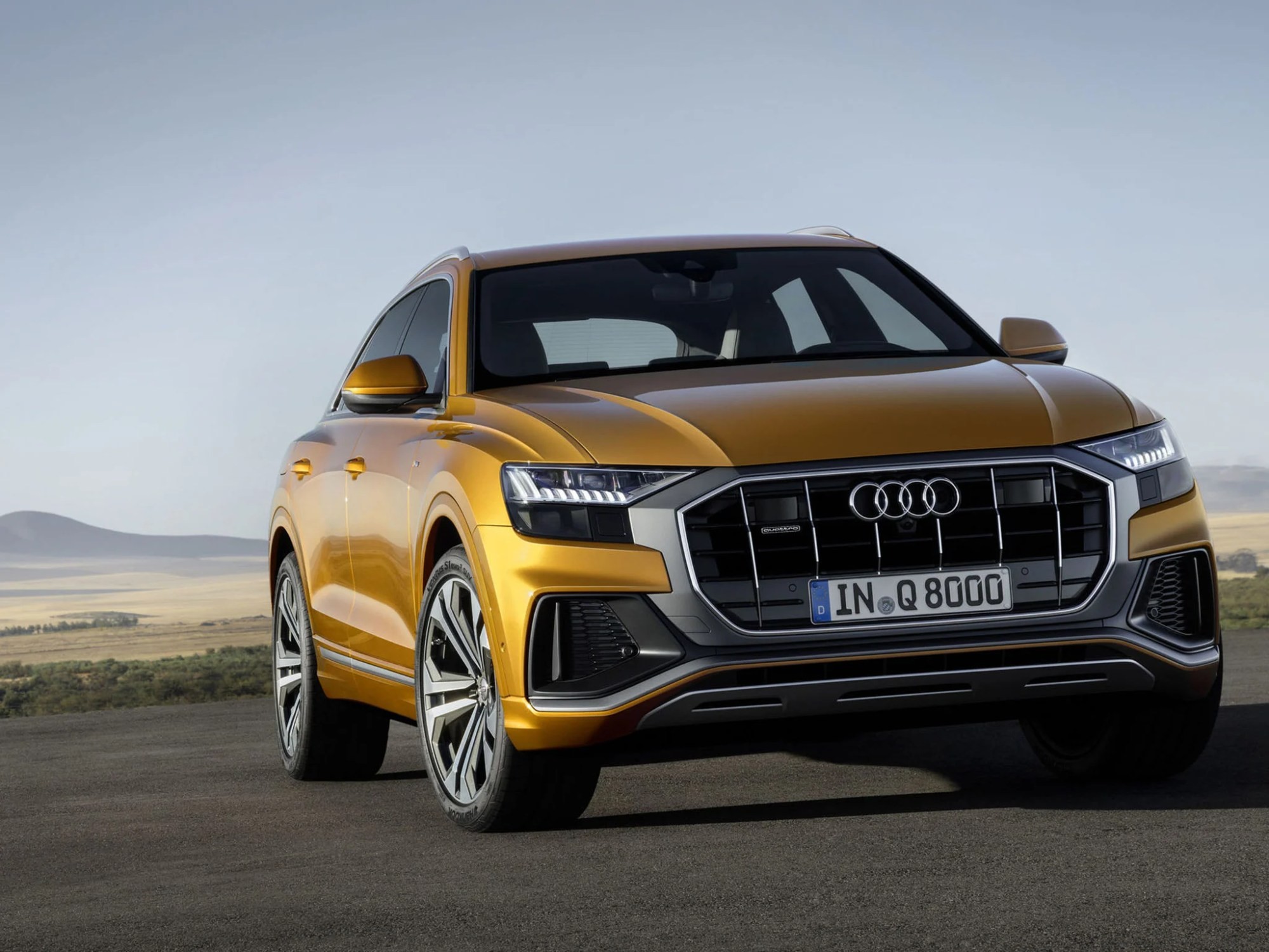 hight resolution of audi q8 it s not pretty but that s the point