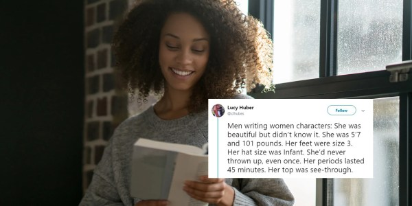 Woman' Tweet Perfectly Sums Male Authors