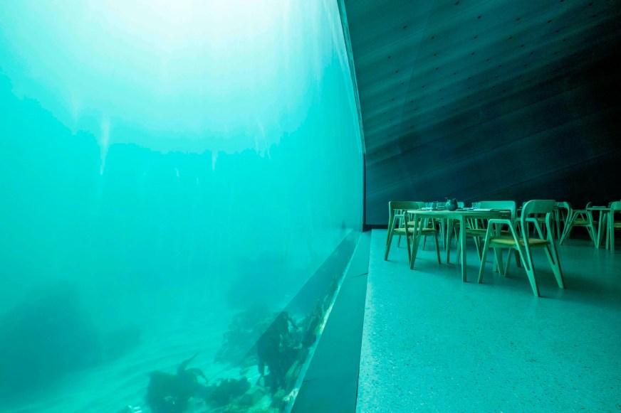 Under: Europe's first underwater restaurant opens in ...