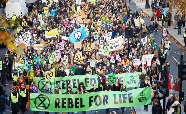 Can Extinction Rebellion Shut Down London And Force