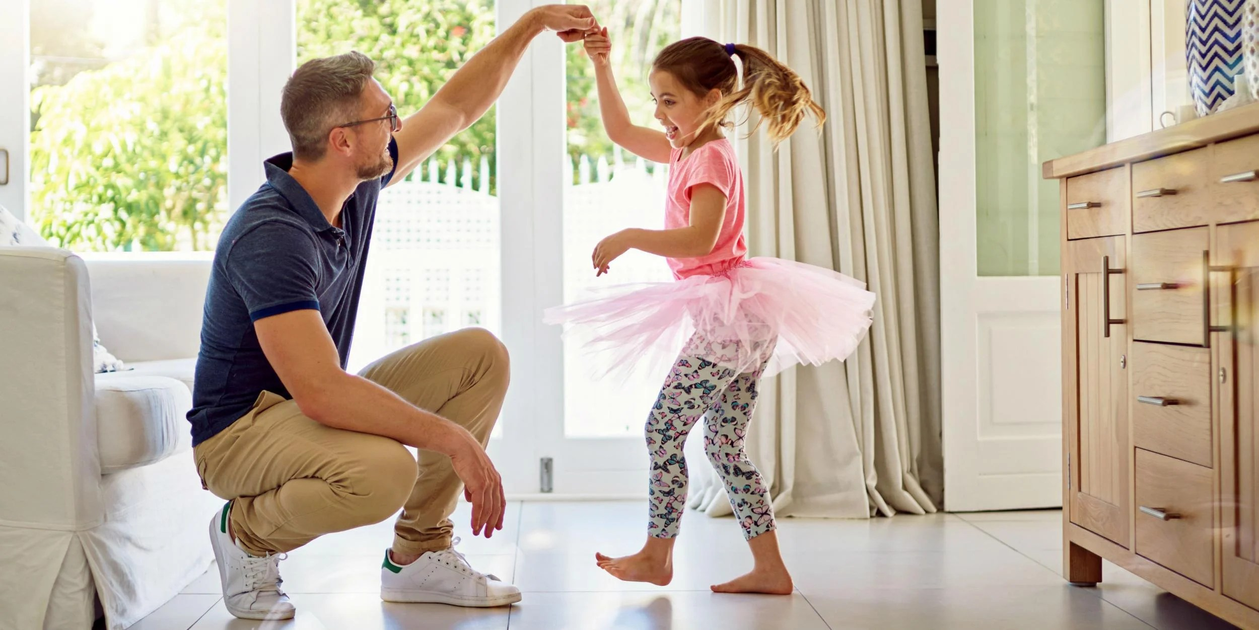 father daughter dances dad