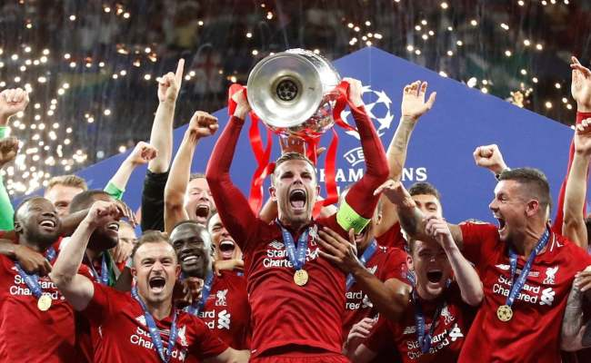 Champions League Final Result Liverpool Lift Sixth European Trophy After Beating Tottenham In
