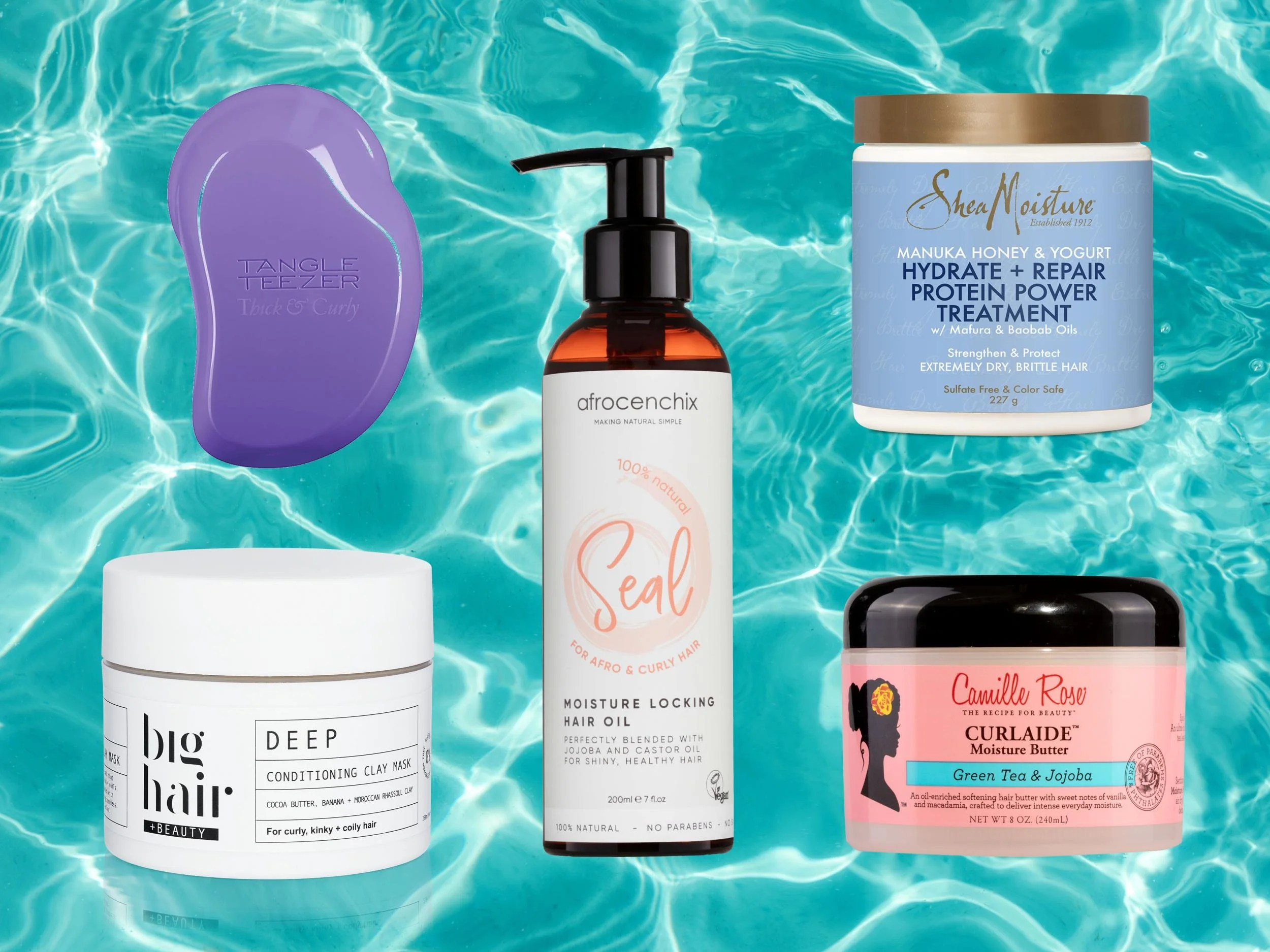 Best Afro Hair Products That Hydrate All Curl Types