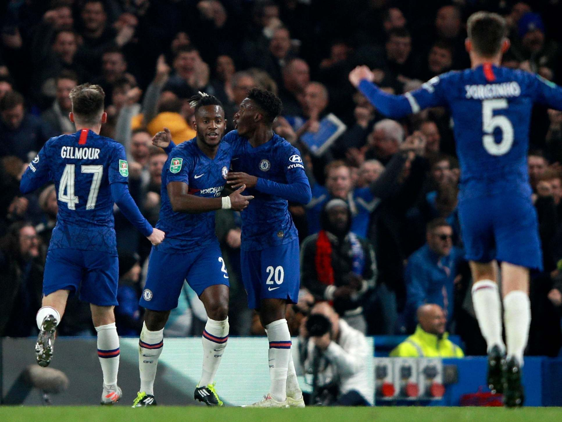 Chelsea vs Manchester United LIVE: Score. goals and latest updates from Carabao Cup fourth round | The Independent