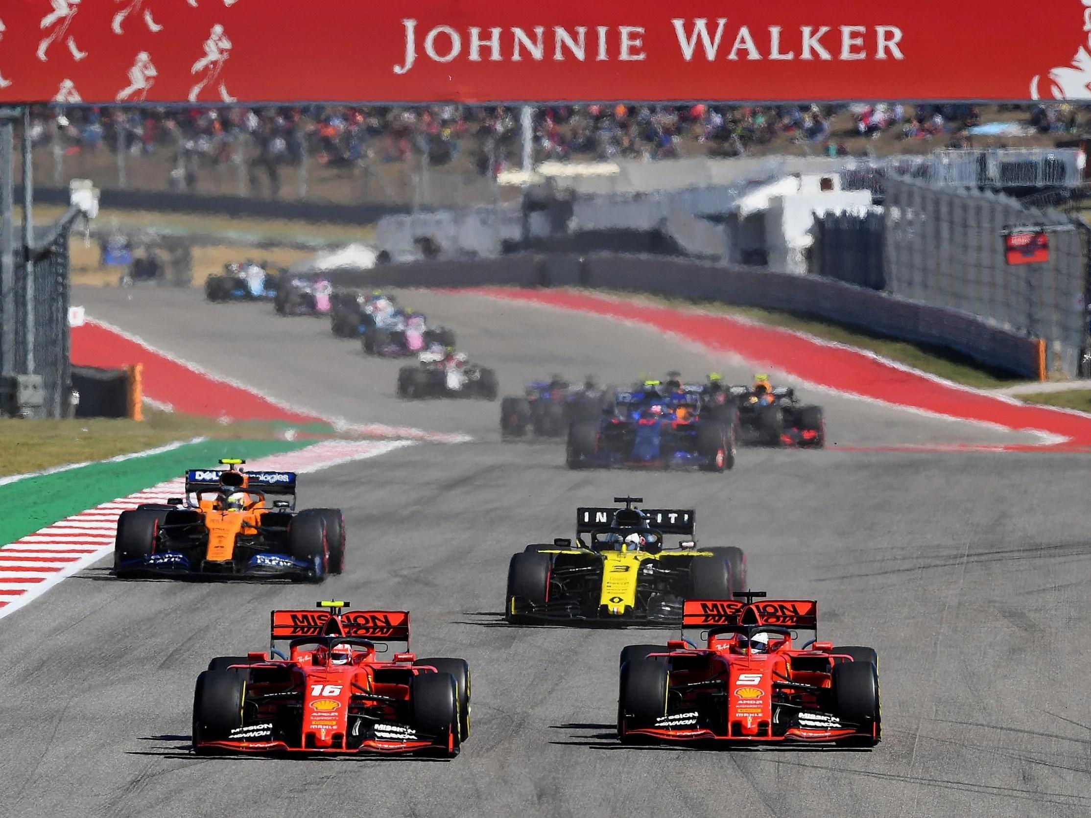 Formula One Outlines Plans For Net Zero Carbon Footprint