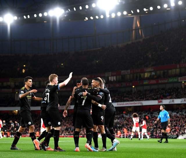 Arsenal Vs Man City Result Kevin De Bruyne Produces Masterclass