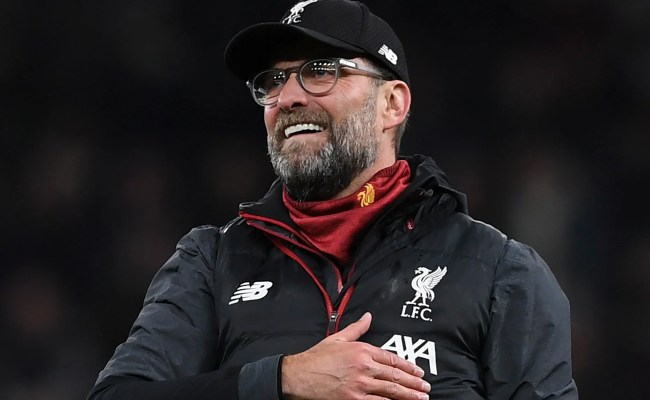 Tottenham Vs Liverpool Jurgen Klopp Not Interested In Records Until Title Secured The Independent