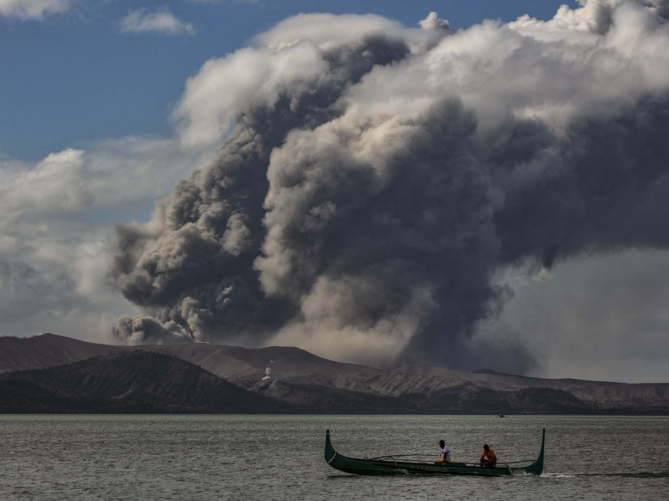 News about the Taal volcano in the Philippines - live: the latest updates today, with the outbreak of other earthquakes