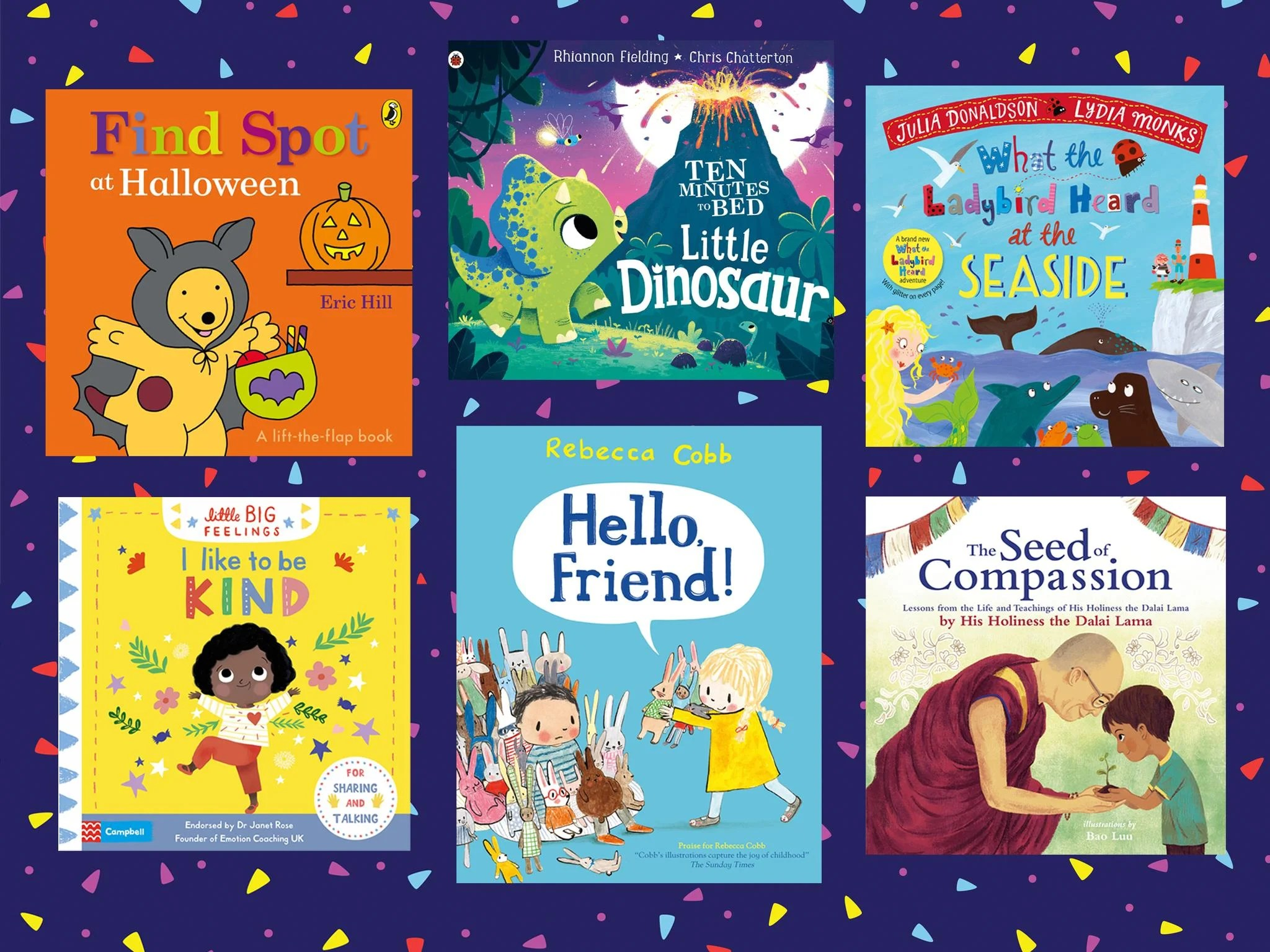 The best books to read your children in 2020. from Julia Donaldson's 'The Go-Away Bird' to the Dalai Lama's 'The Seed of Compassion' | The ...