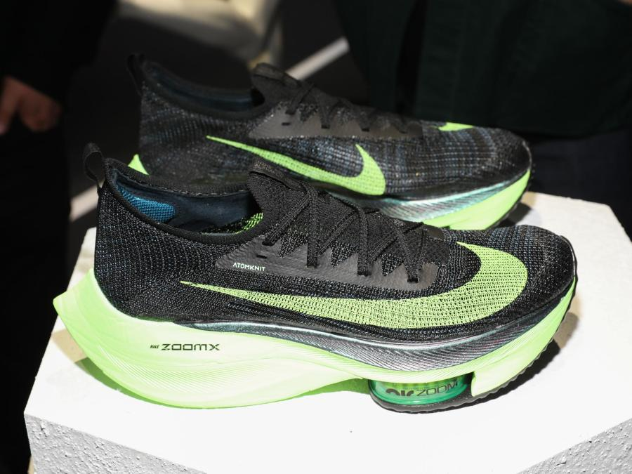 Nike launch Alphafly running shoes to mass market that comply with ...