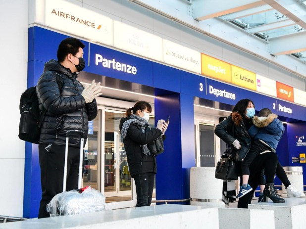 Confusion for travellers as BA cancels dozens of Italy flights over coronavirus