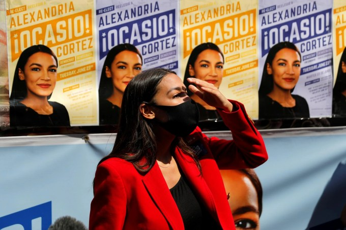 From Insurgent To Establishment Alexandria Ocasio Cortez Set For Second Term After Seeing Off Primary Challengers The Independent The Independent