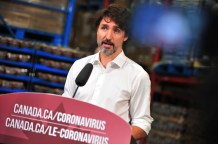 Due To Coronavirus, Trudeau Won't Visit Trump And Most Canadians Don't Want To Cross The Border Either