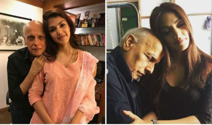 Rhea Chakraborty Trolled For Sharing Picture With Mahesh Bhatt ...