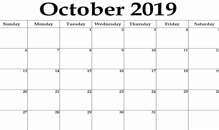 October 2019 Click Here To Know Dates Holidays And Other Crucial Occasions India Com