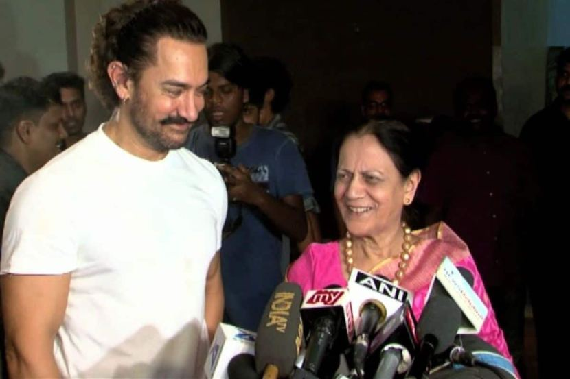 Aamir Khan Confirms Mother Tests COVID-19 Negative, Thanks Fans For Prayers 2