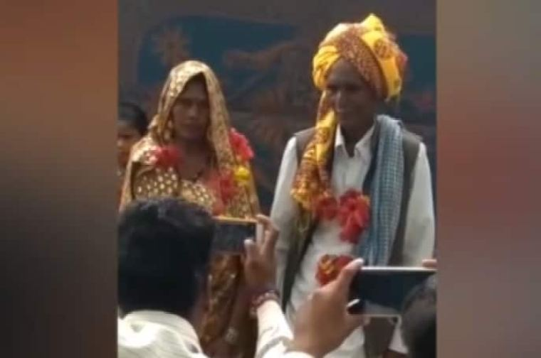 70-Year-Old Man Marries 55-Year-Old Woman After Falling In Love At Hospital, Grandkids Attend Wedding