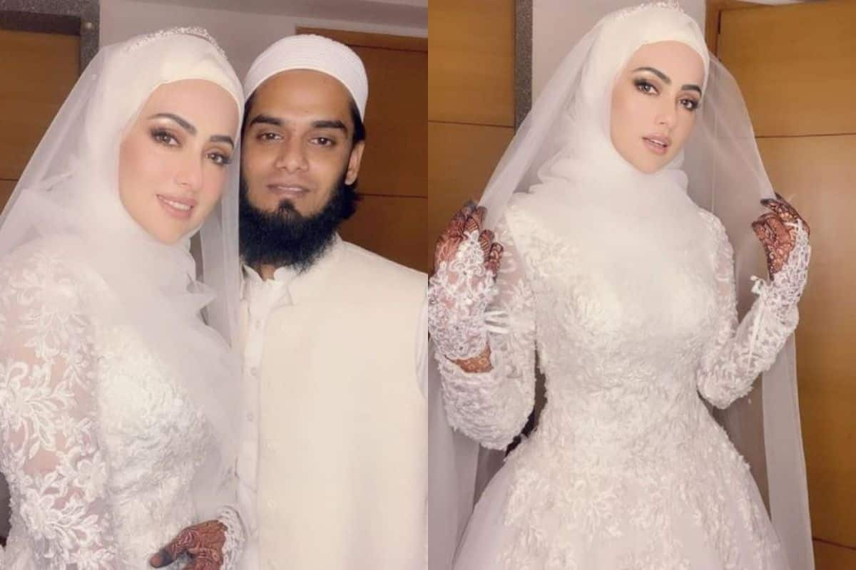 Sana Khan New Wedding Pictures Out: Former Actor Marks 1 Week of Her Wedding With Anas Sayed