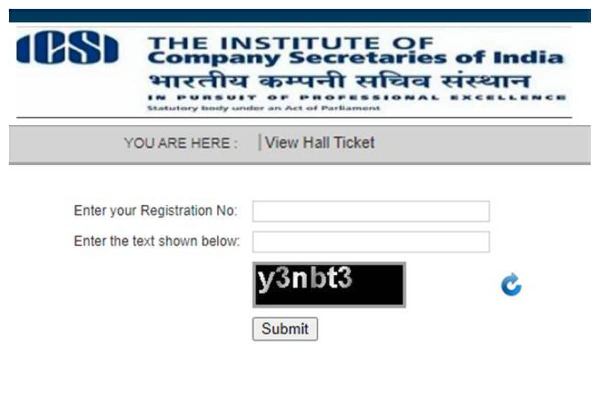 ICSI CS Foundation Admit Card 2020 Released for December Exam At icsi.edu, CHECK HOW TO DOWNLOAD