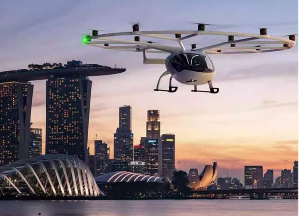 Ride Into Future: Singapore Set to Have First Electric Air Taxi Service by 2023