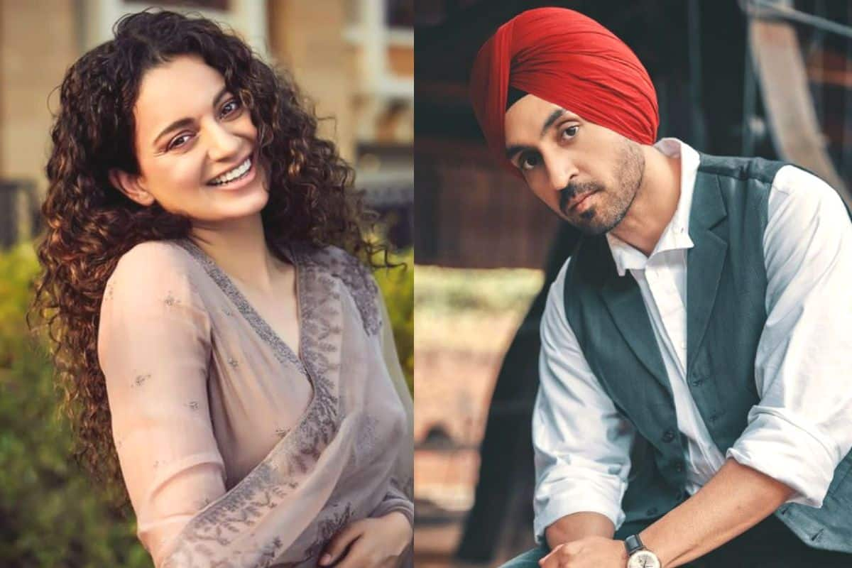 Kangana Ranaut 'Shouldn't be This Blind', Diljit Dosanjh Lashes Out at Actor For Tweeting Against Old Woman From Farmers' Protest in Delhi