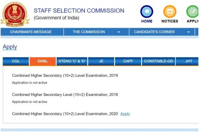 SSC CHSL 2020 Application Deadline Extended, Check New Last Date, Other Details Here