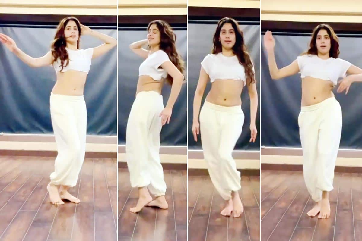Janhvi Kapoor Flaunts Her Incredible Belly Dancing Moves on