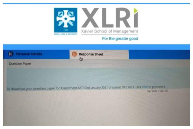 XLRI Releases XAT 2021 Response Sheet, Answer Key To Be Out Soon at xatonline.in