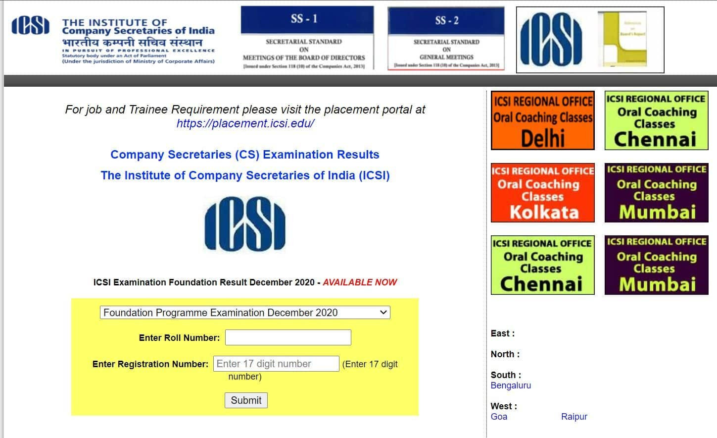 LIVE NOW: ICSI CSEET Result 2021 Declared, Download CSEET 2021 Scorecard at icsi.edu | Check Details Here
