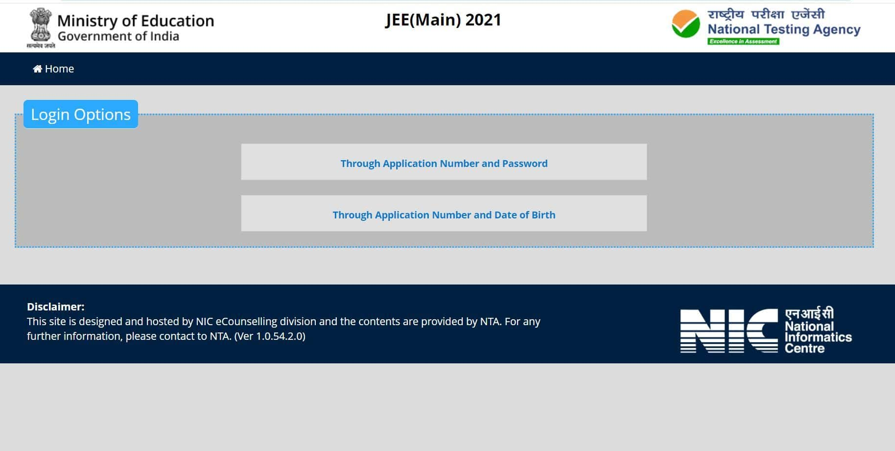 JEE Main 2021 March Session Answer Key Released at jeemain.nta.nic.in