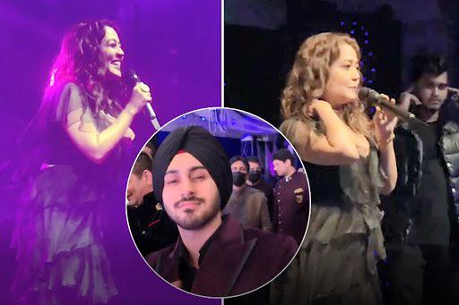 Neha Kakkar Performs on Her Hit Song