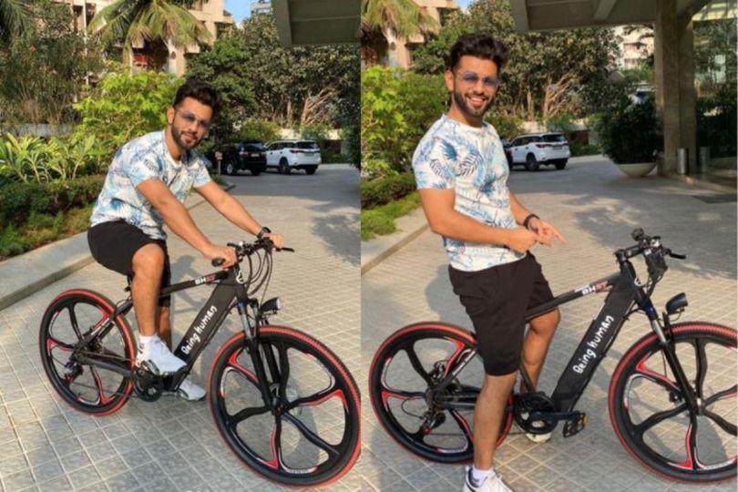 Salman Khan Gifts Being Human E-Bike Worth Rs 53,999 to Rahul Vaidya- Check Pics