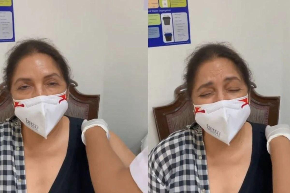 Scared Neena Gupta Shouts 'Mummyyy' as She Gets COVID-19 Vaccine Shot- Video Goes Viral